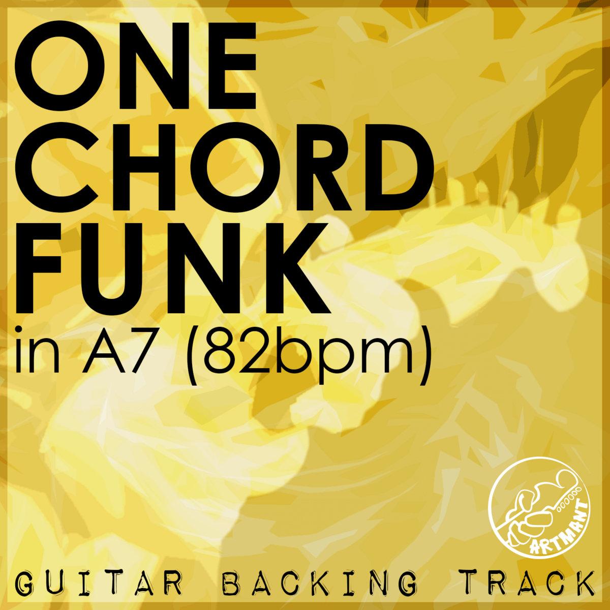 One Chord Backing Track In A7 82bpm Artmant Studios