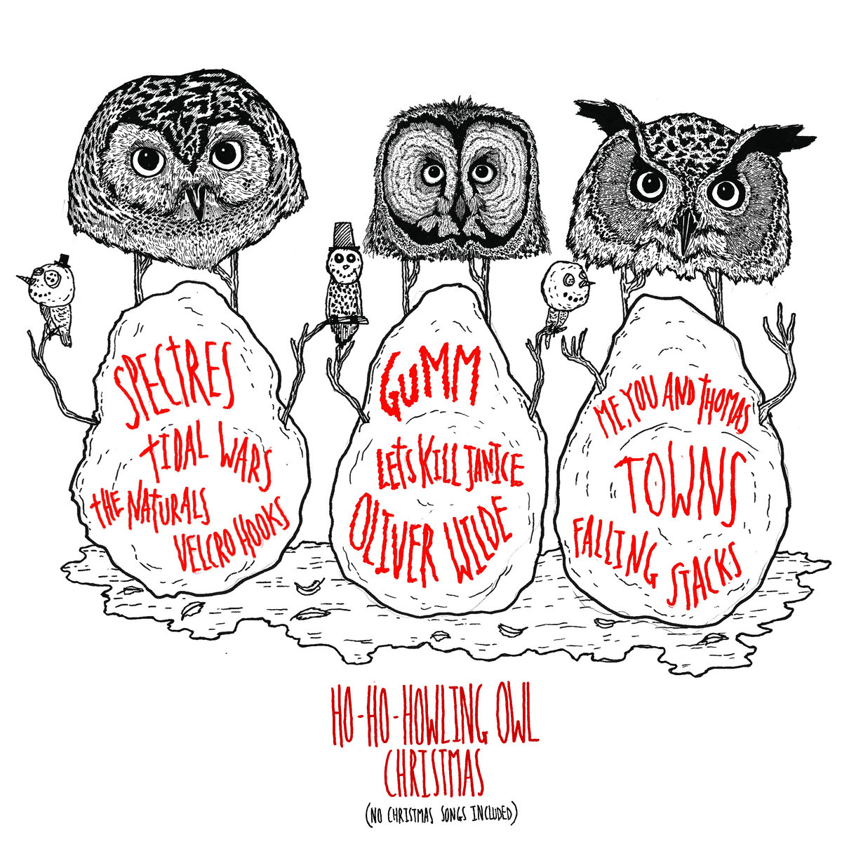 The Little Blue Owl\' - A Christmas Tale | Howling Owl Records