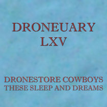 Droneuary LXV - These Sleep and Dreams cover art