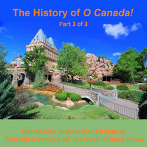 History of the O Canada! film, finale cover art