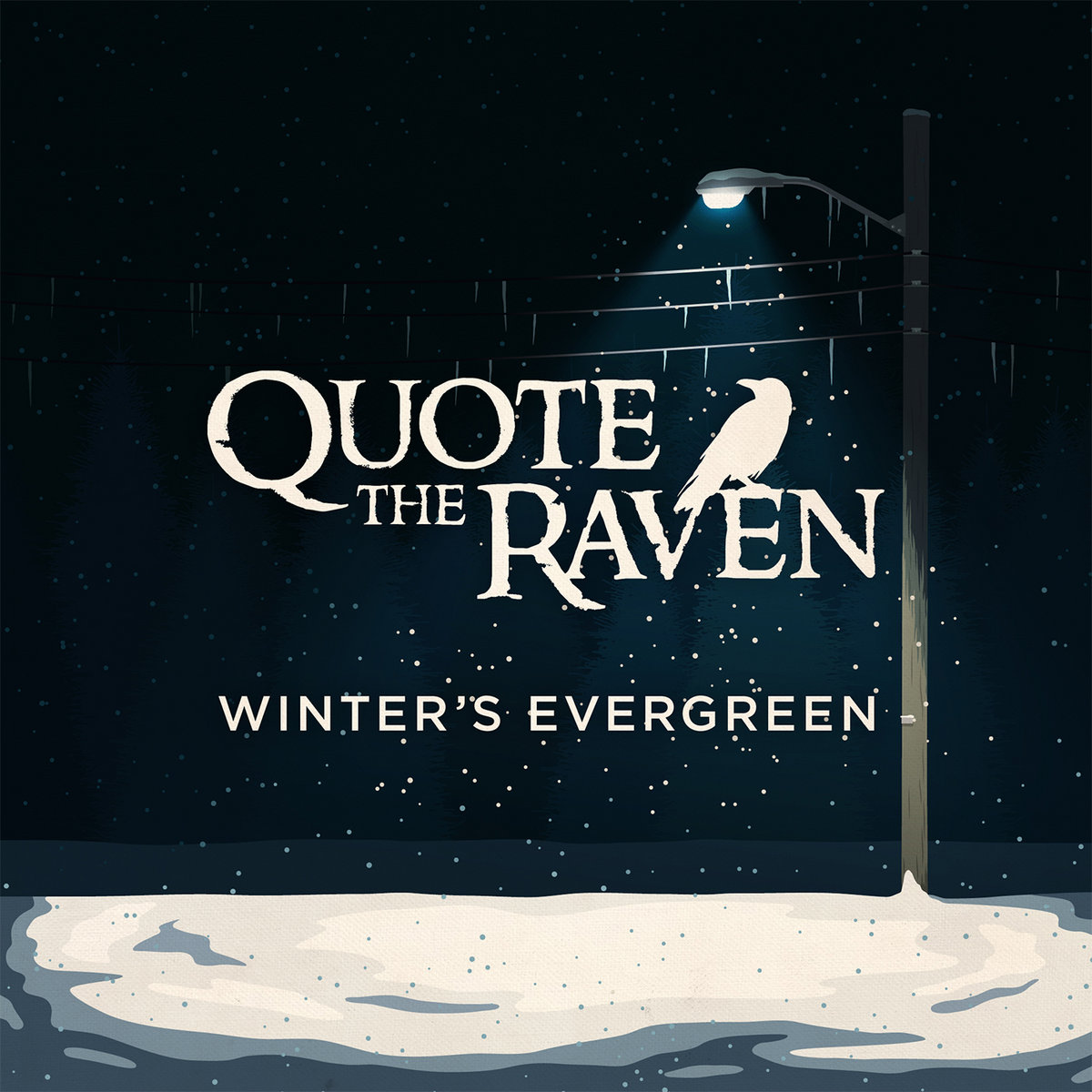 Forest By Quote The Raven Quote The Raven Bandcamp Winters Evergreen Quote The Raven