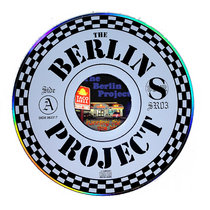 "BERLIN PROJECT - running for the border ""compact disc"" SR03 cover art"