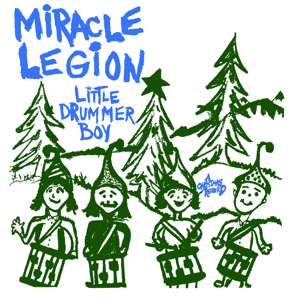 Christmas Drummer.Little Drummer Boy A Christmas Record Miracle Legion