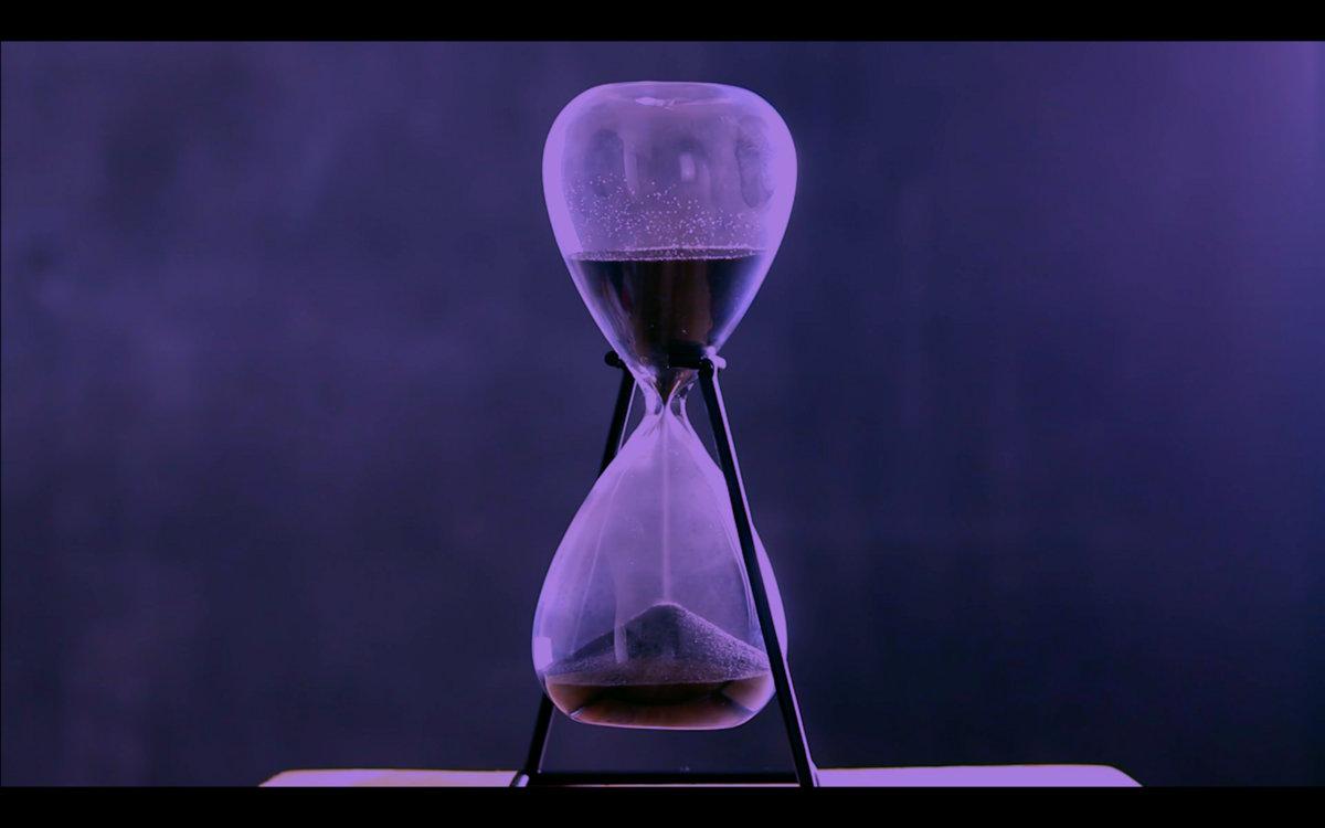 Hourglass by J.W. Morris