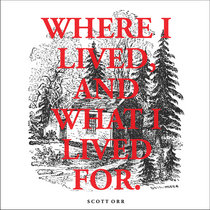 Where I Lived, And What I Lived For cover art