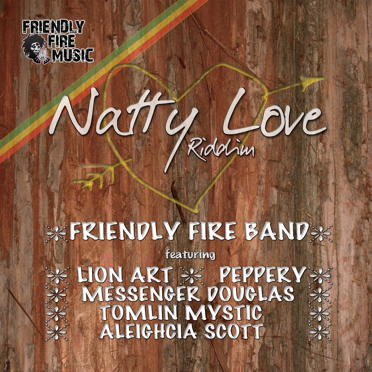 Natty Love Riddim (instrumental) | Friendly Fire Music