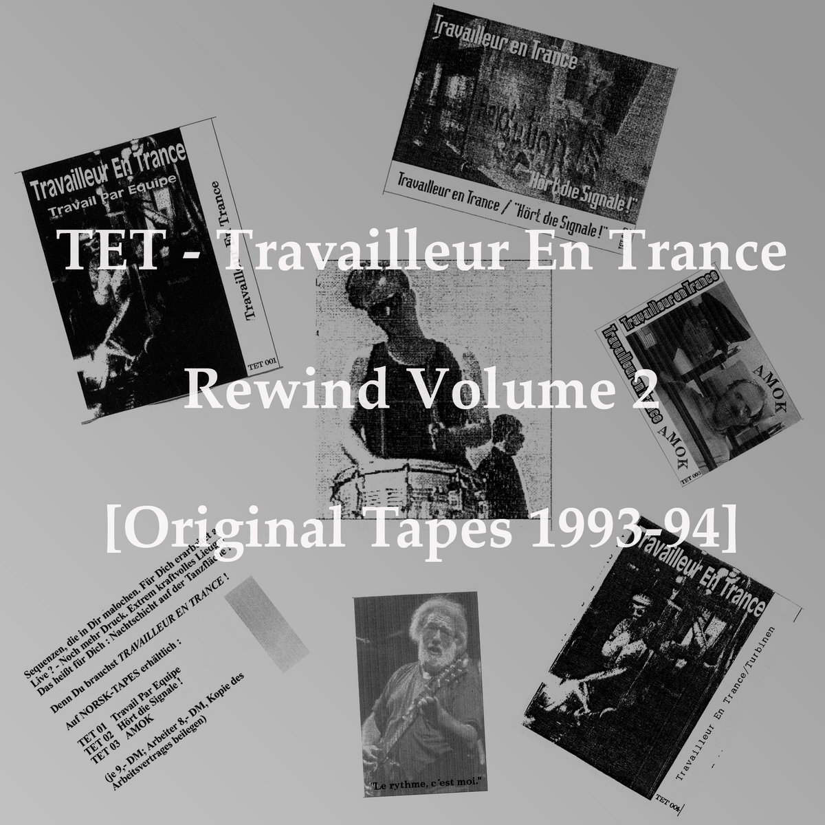 Tanzwang! (Update '93) (Direct 1993/94 Tape Copy) | TET Travailleur