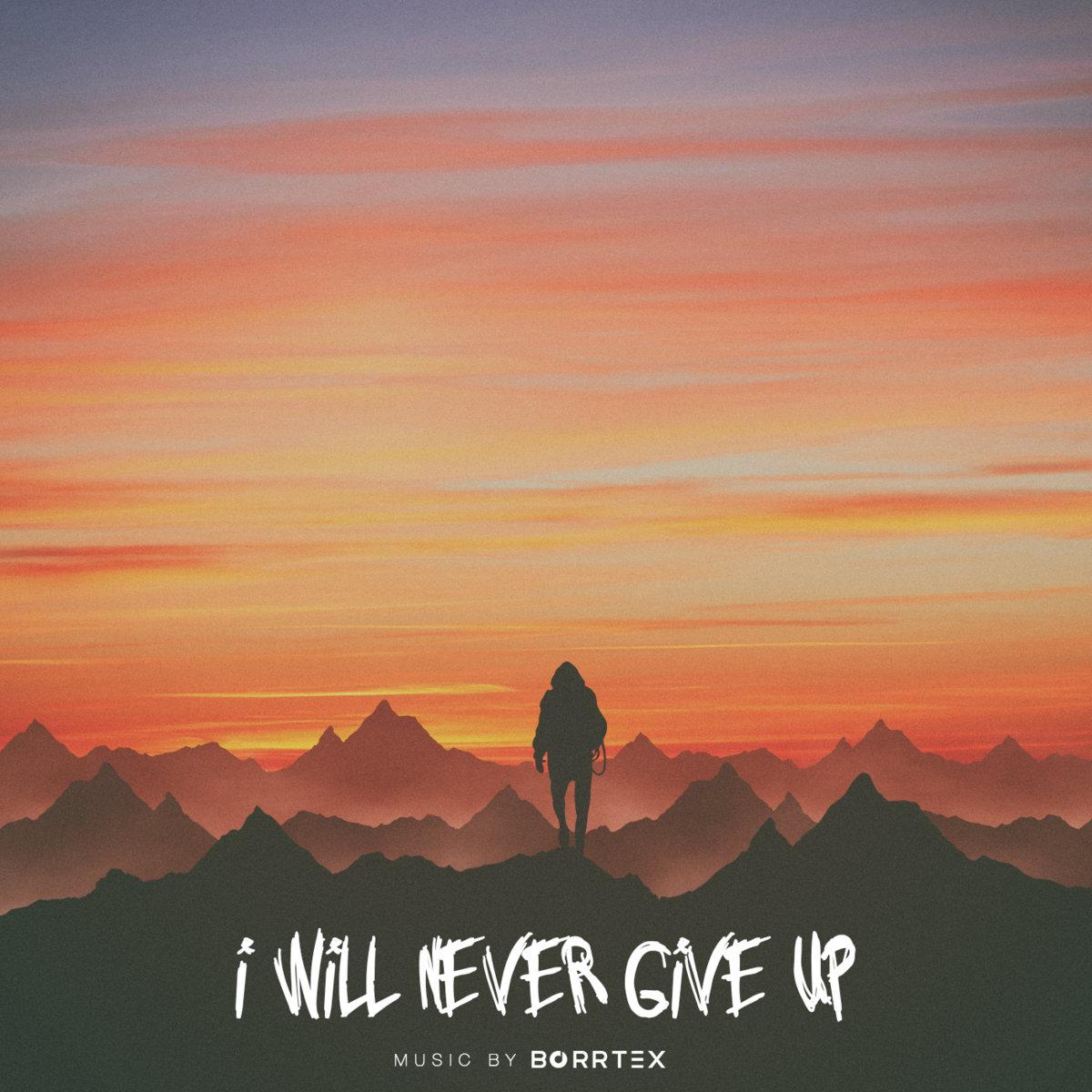 i will never give up borrtex