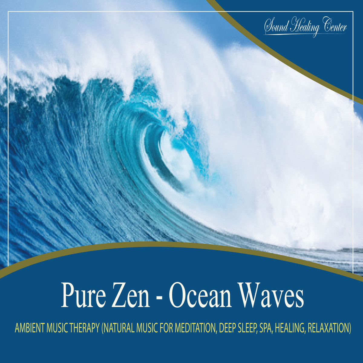 Pure Zen - Ocean Waves Natural Music With Nature Sounds for