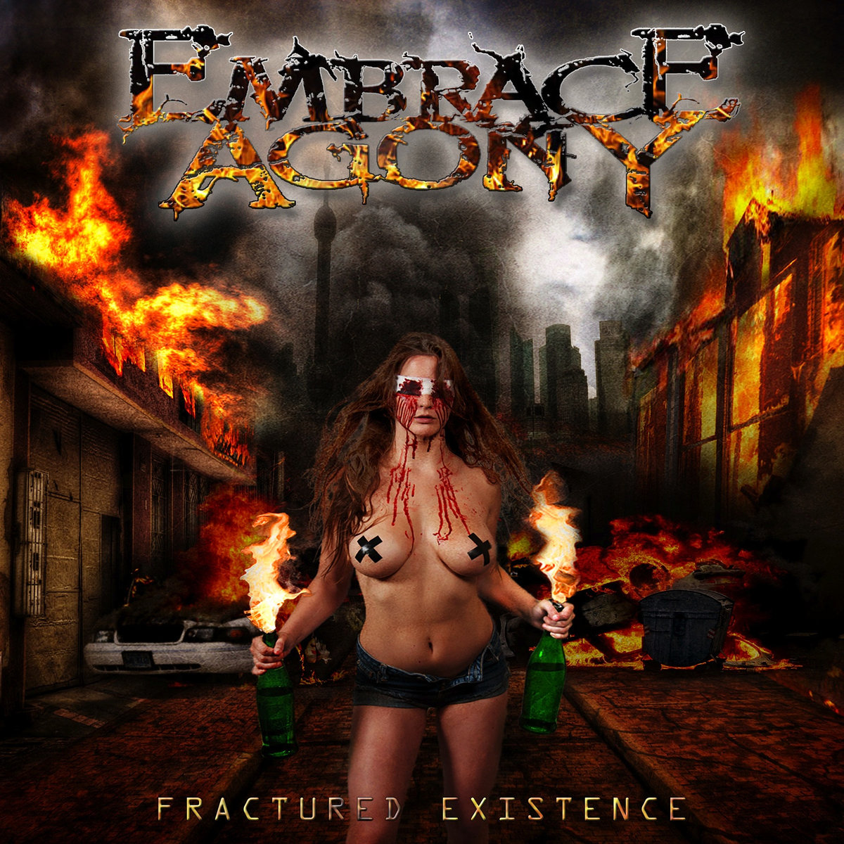 Embrace Agony - Fractured Existence [EP] (2017)