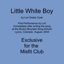 Little White Boy by Lori Cook at Song School cover art