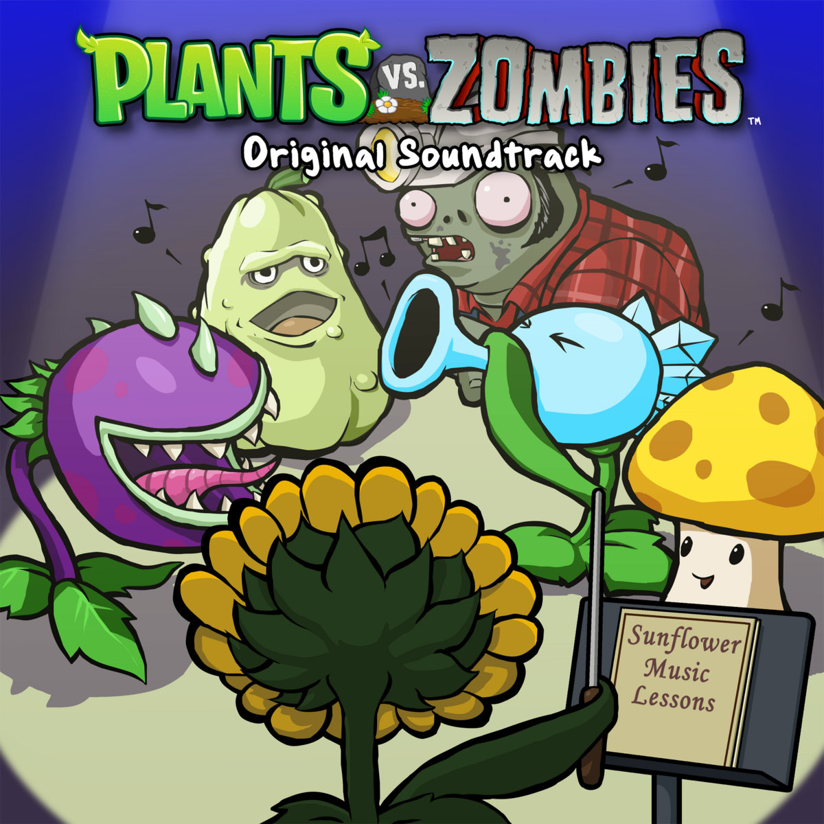 Plants vs zombies soundtrack laura shigihara plants vs zombies soundtrack toneelgroepblik Image collections