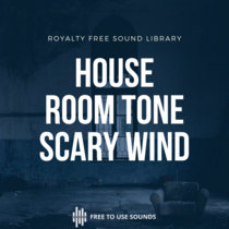 House Room Tone   Scary Wind At Night cover art
