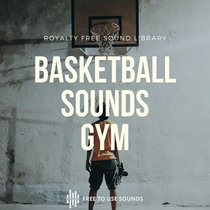 Basketball Sounds   Dribbling, Bouncing In High School Gym cover art