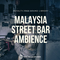 Bars Sounds At Night   Street Bar Crowds Ambience   Malaysia cover art