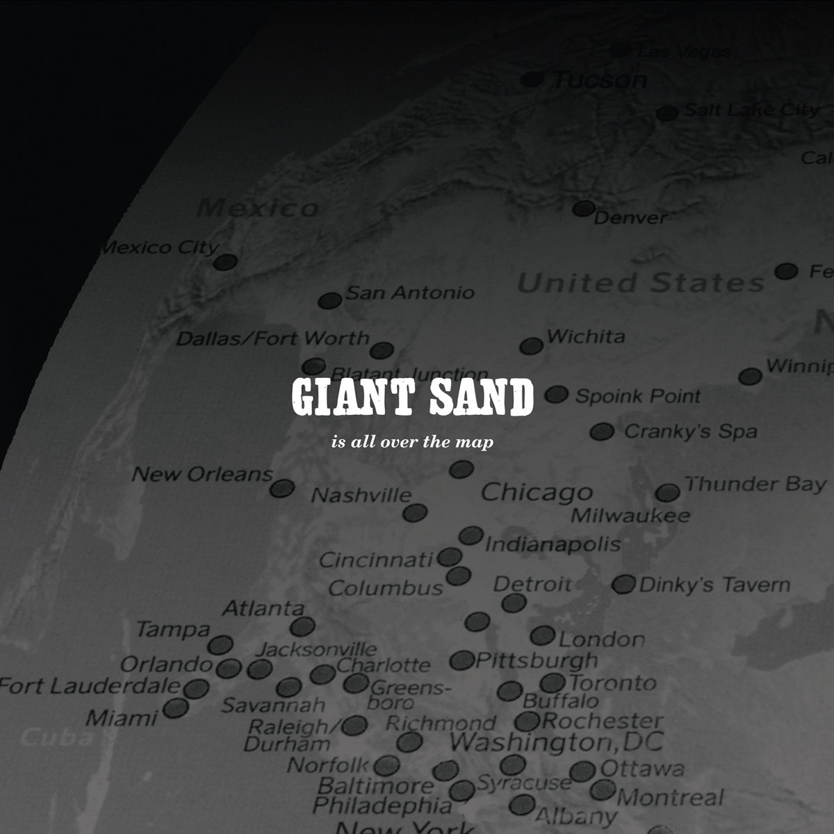 Is All Over The Map | Giant Sand