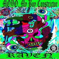 MOYO, My BOY Constrictor/ RAVEN Split cover art