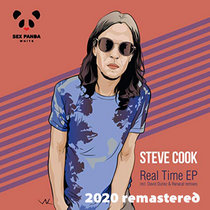 Steve Cook - Real Time (David Duriez Plastic Track Remix) [2020 Remastered Version] cover art