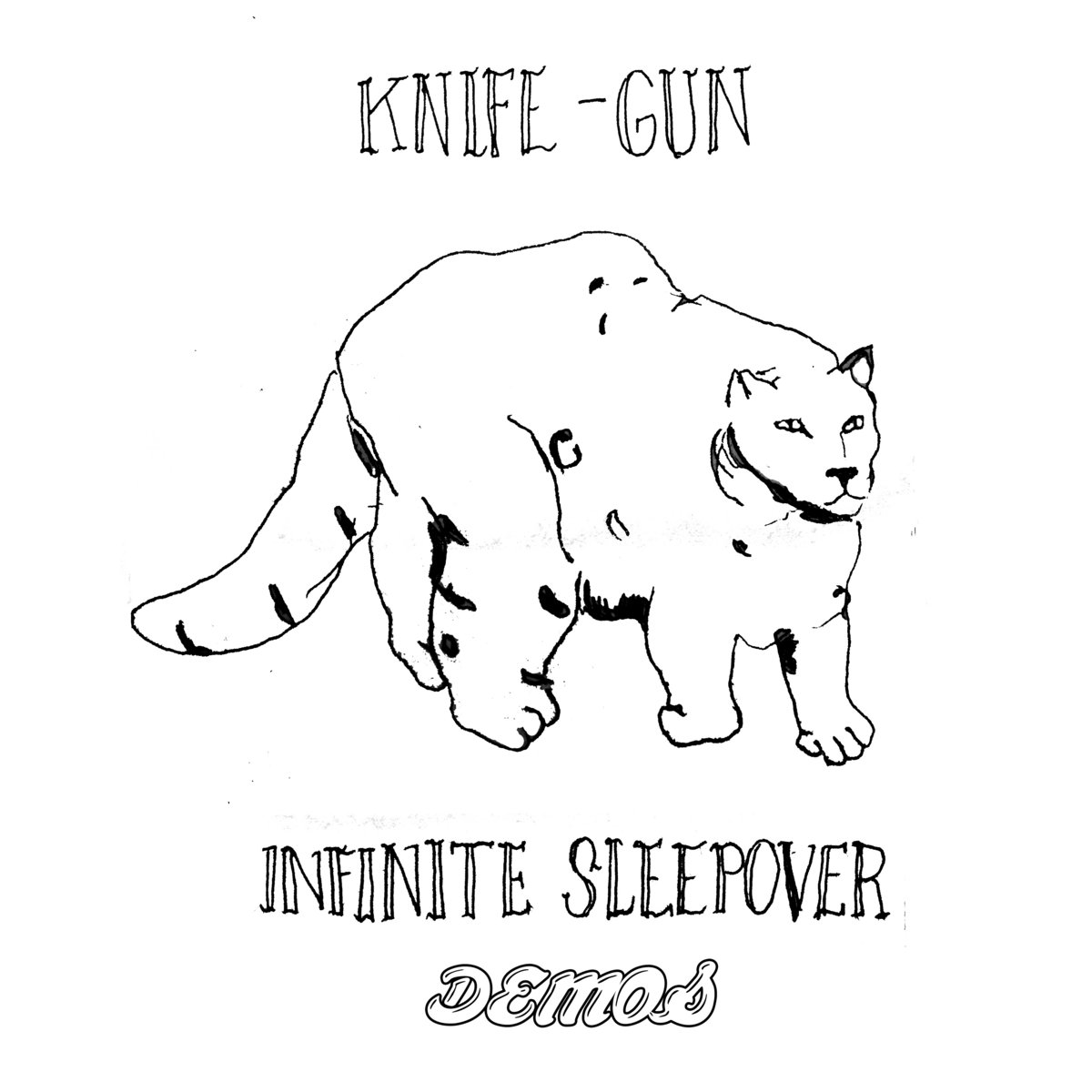 Axolotl Surprise Tequila Sunrise Knife Gun