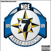 NGE All Stars Mixtape: Blue Disc Cover Art