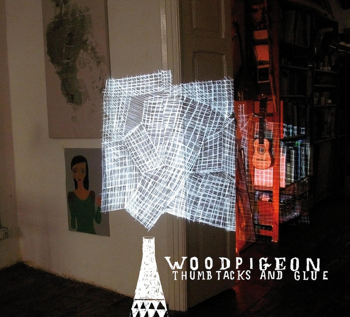 thumbtacks glue woodpigeon