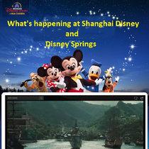 Disney Springs Rumors and Shanghai Disney Update cover art