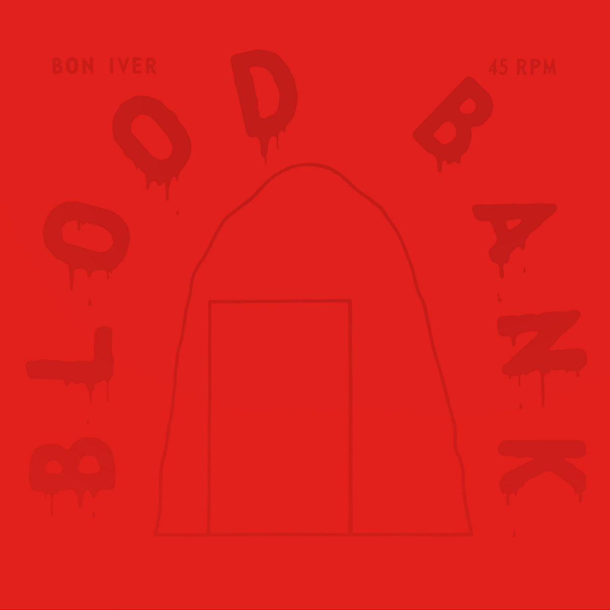 Goossens Design Bank.Blood Bank 10th Anniversary Edition Bon Iver
