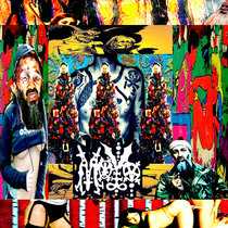 Some Wantabe Satanic Artsy Crustpunk Spic Blooded Jawn EP cover art