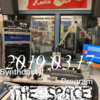 2019.03.17 - Synthdactyl Program @ The Space Cover Art