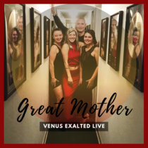 Great Mother LIVE with Venus Exalted cover art