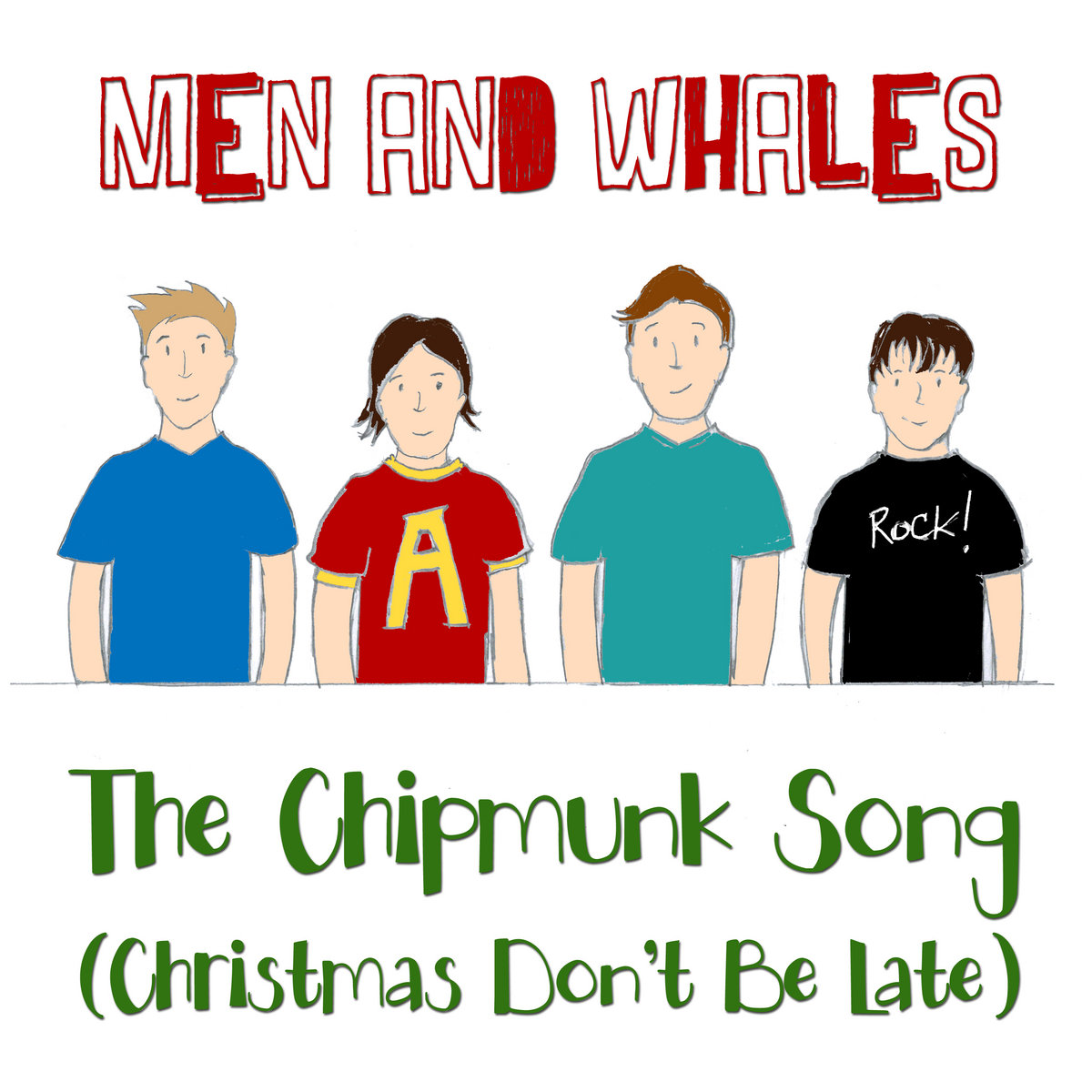 The Chipmunk Song (Christmas Don\'t Be Late) | Men and Whales