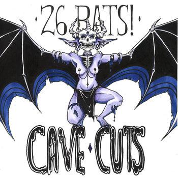 Cave Cuts by 26 BATS!