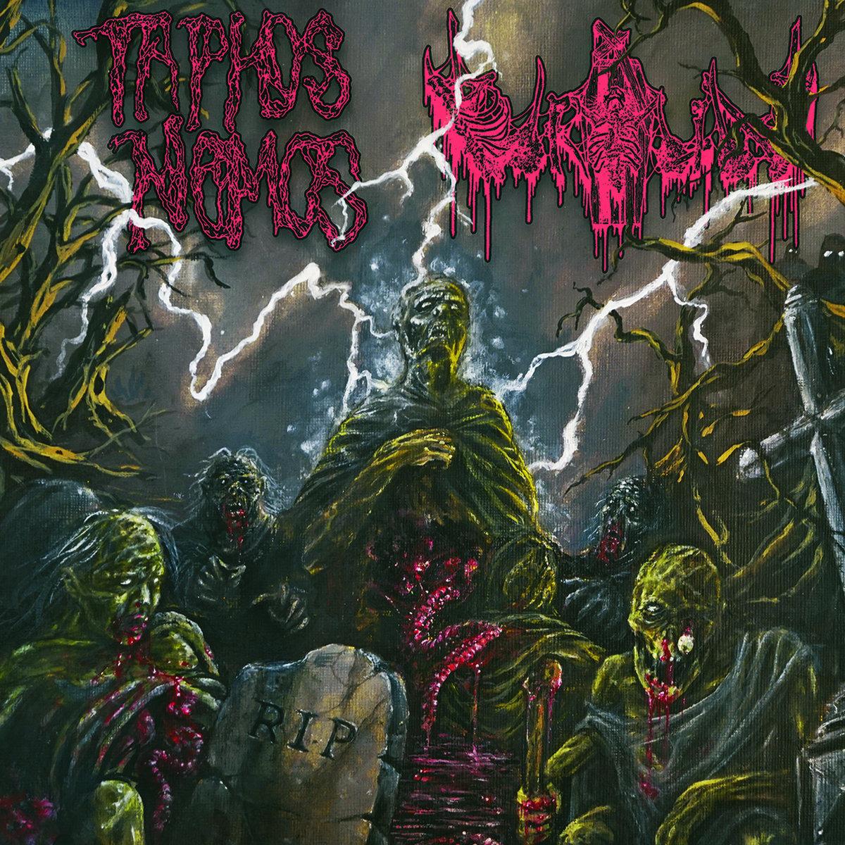 TAPHOS NOMOS // URÐUN - R I P CD | Blood Harvest