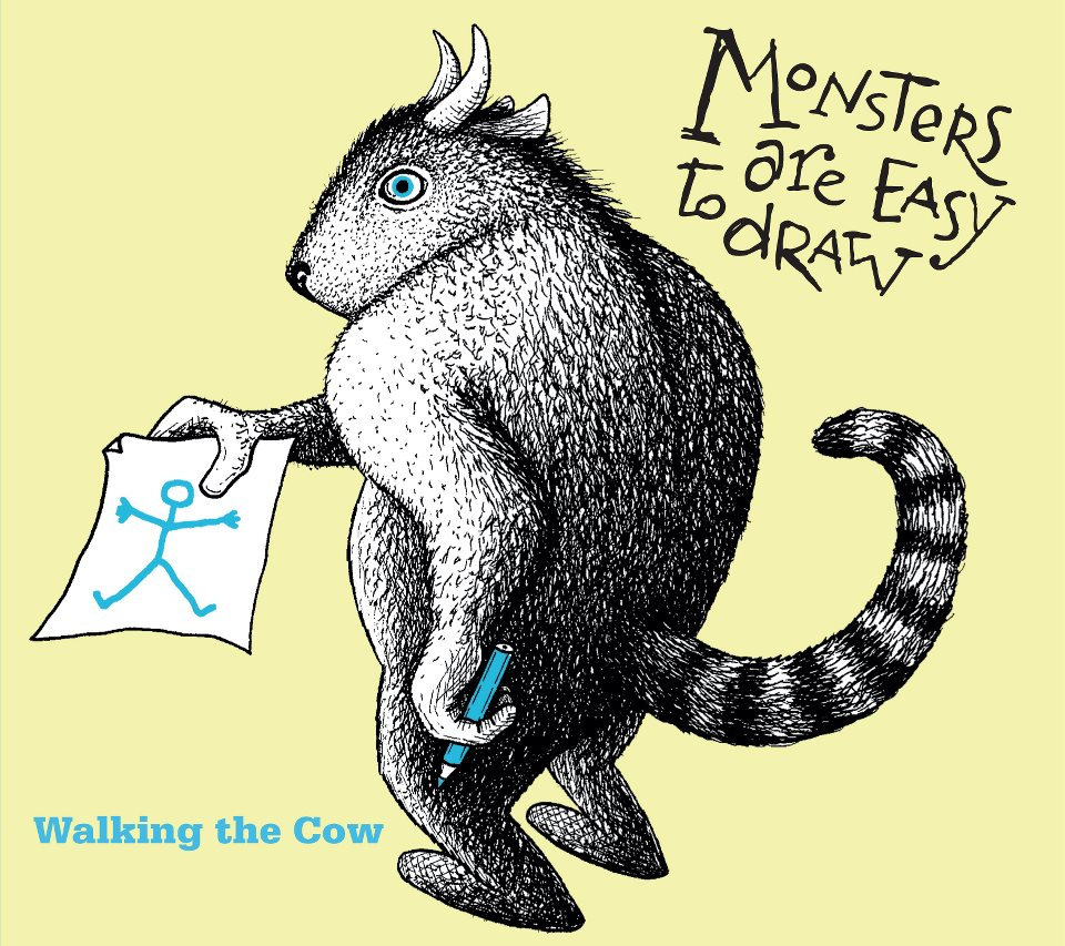 walking the cow monsters are easy to draw white birch records