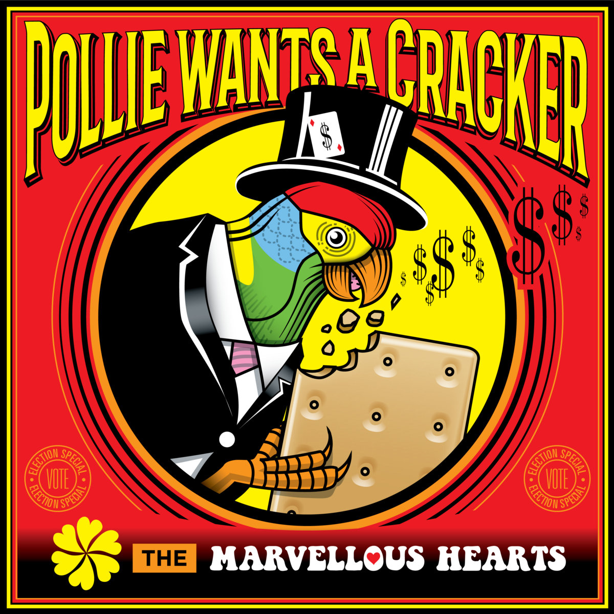 Pollie Wants a Cracker by The Marvellous Hearts
