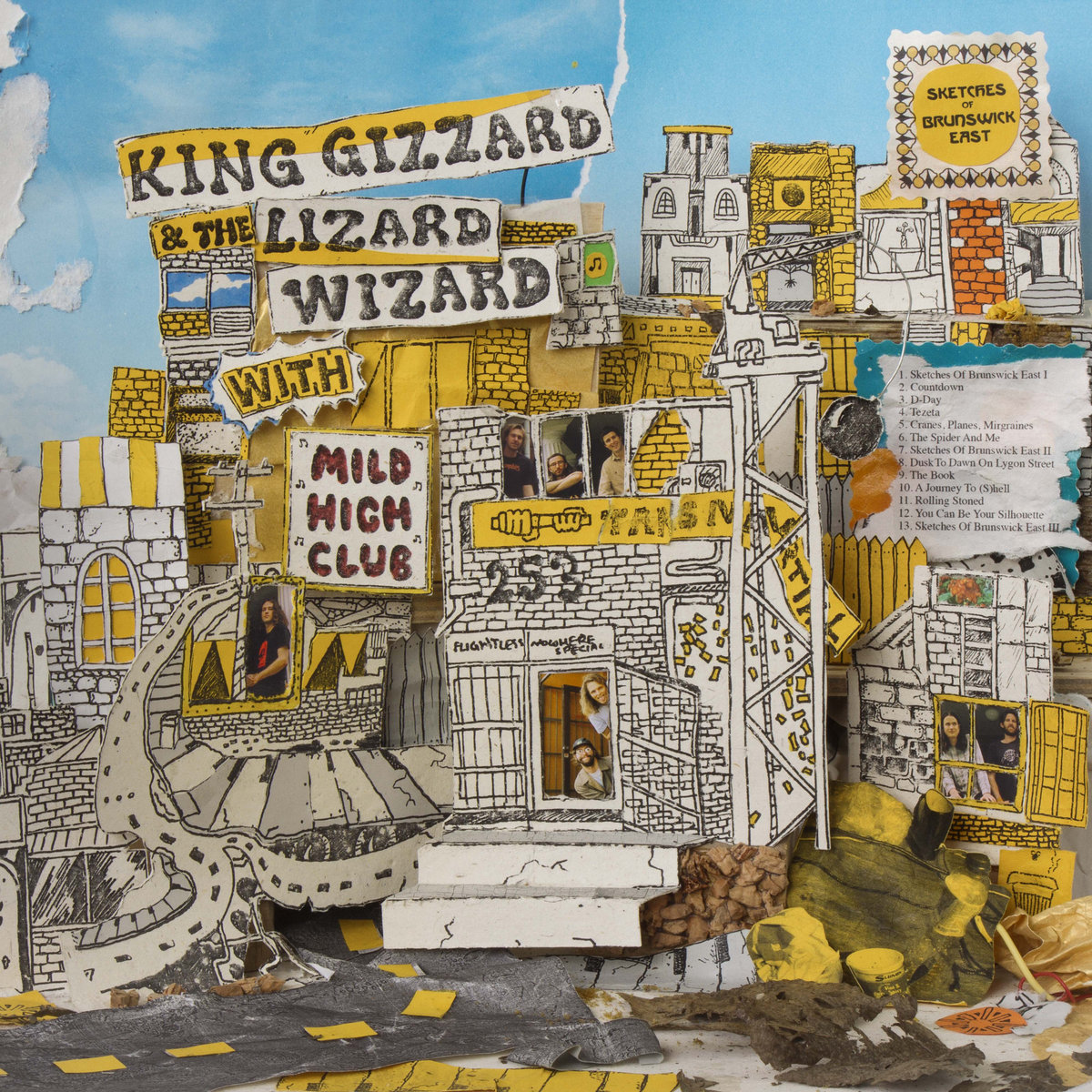 By King Gizzard The Lizard Wizard With Mild High Club
