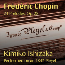 F. Chopin, 24 Preludes, Op. 28 cover art