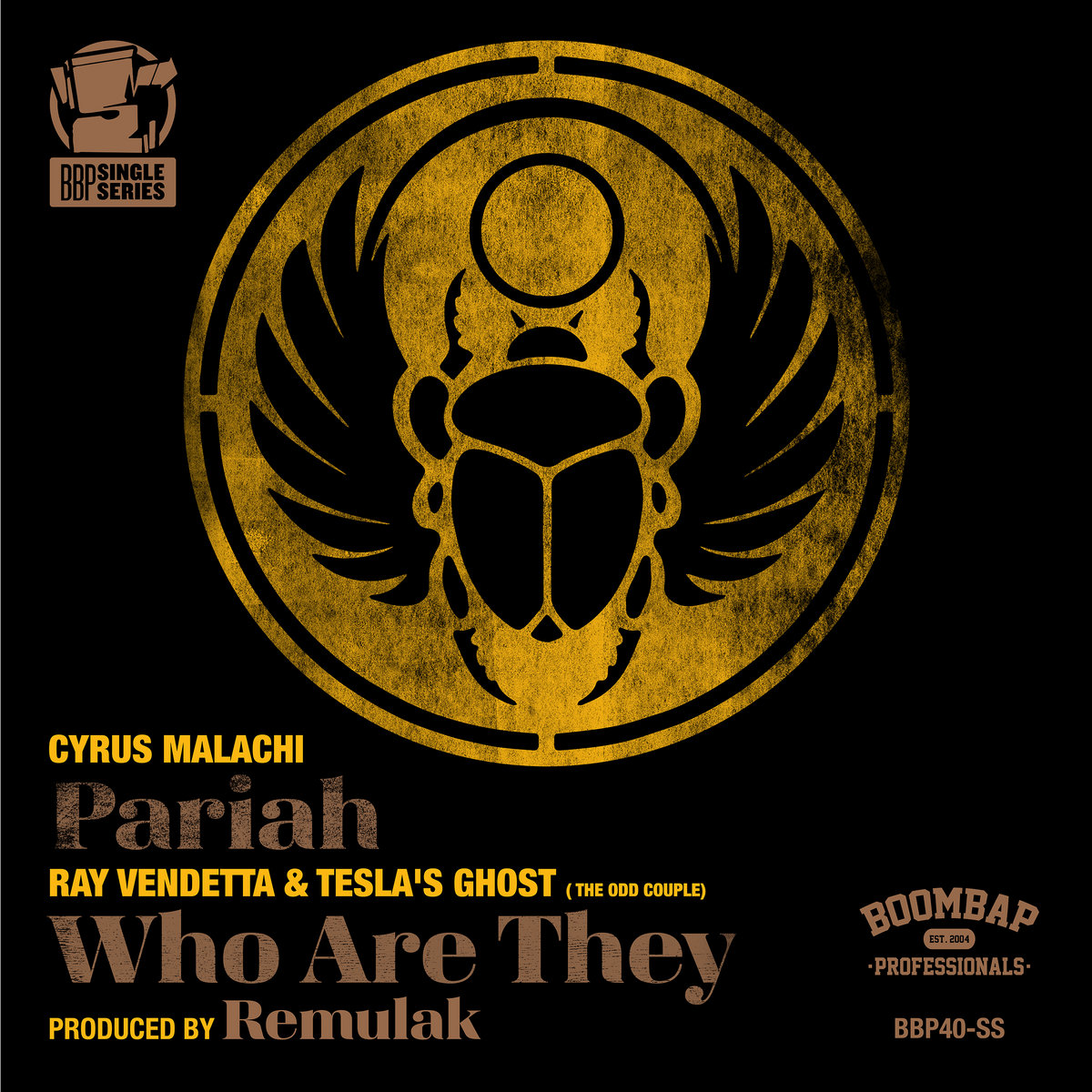 Pariah B W Who Are They Boom Bap Pro