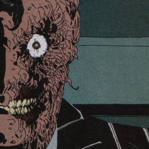 Two-Face/Harvey Dent cover art