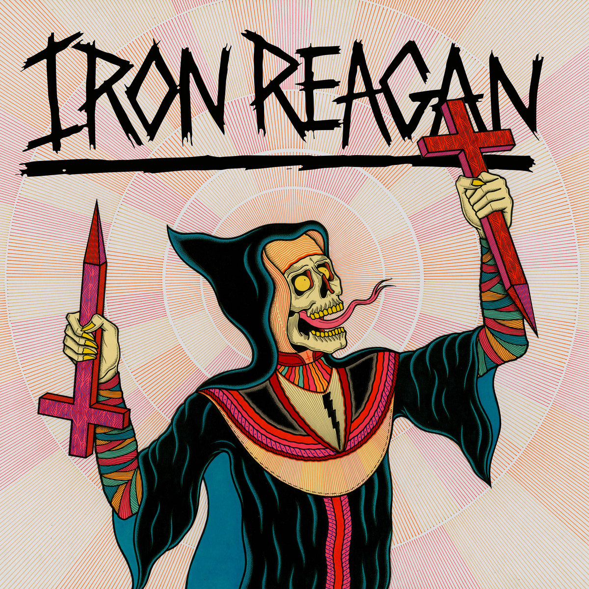 Image result for Iron Reagan: Crossover Ministry! album art