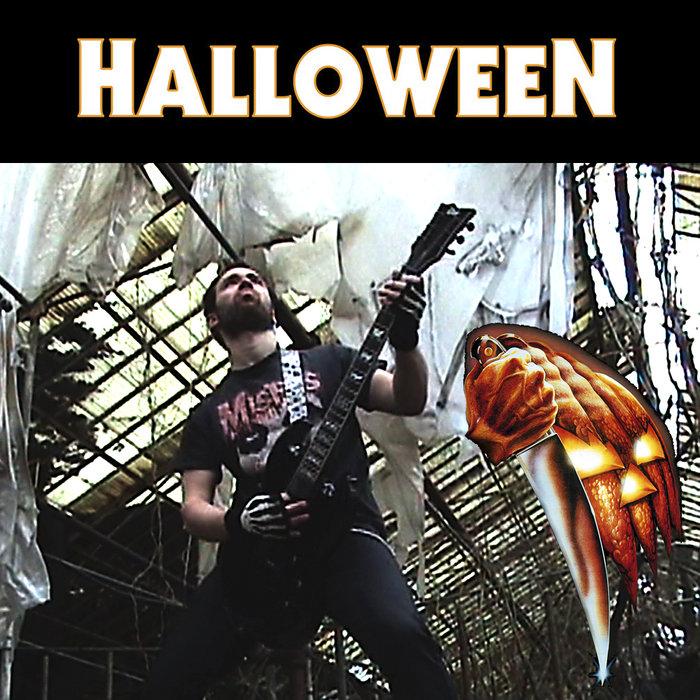 Halloween Movie Theme Song Metal Version Mike Metal Vocalist Singer Rock Metal More