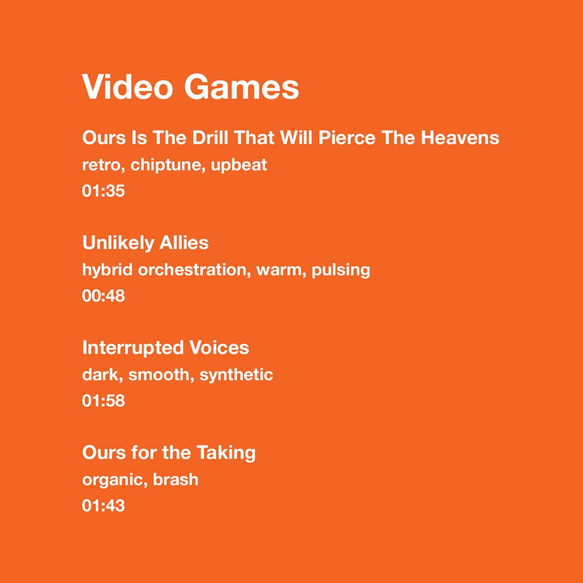 Video Games | Stephen Tanksley