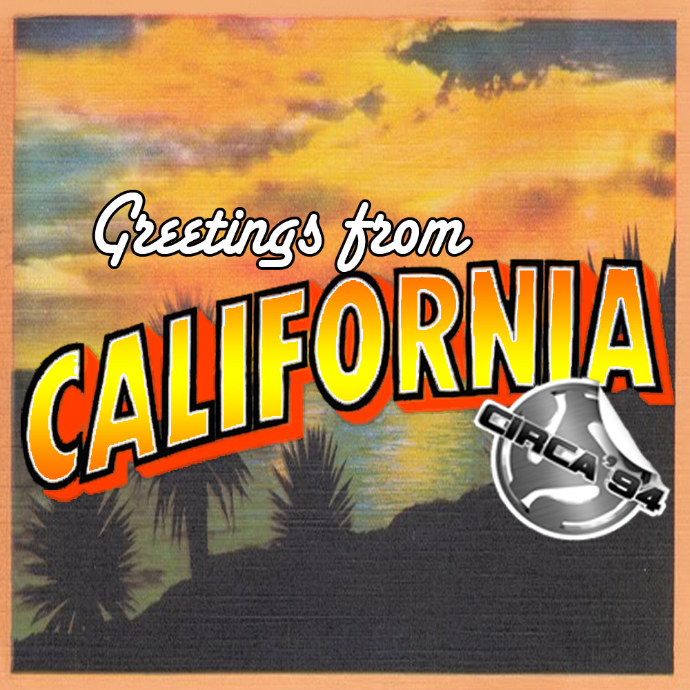 Greetings from california circa 94 beats greetings from california m4hsunfo