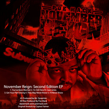 November Reign (Part 2) EP by Poe Mack