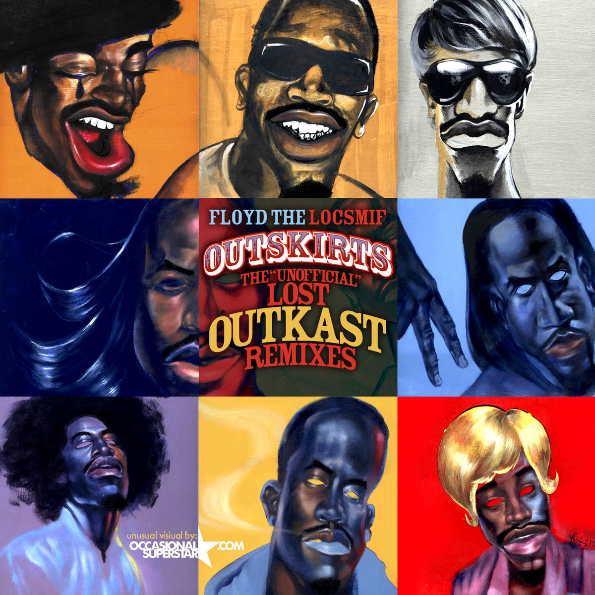 Outskirts: The Unofficial Lost Outkast Remixes | Floyd The