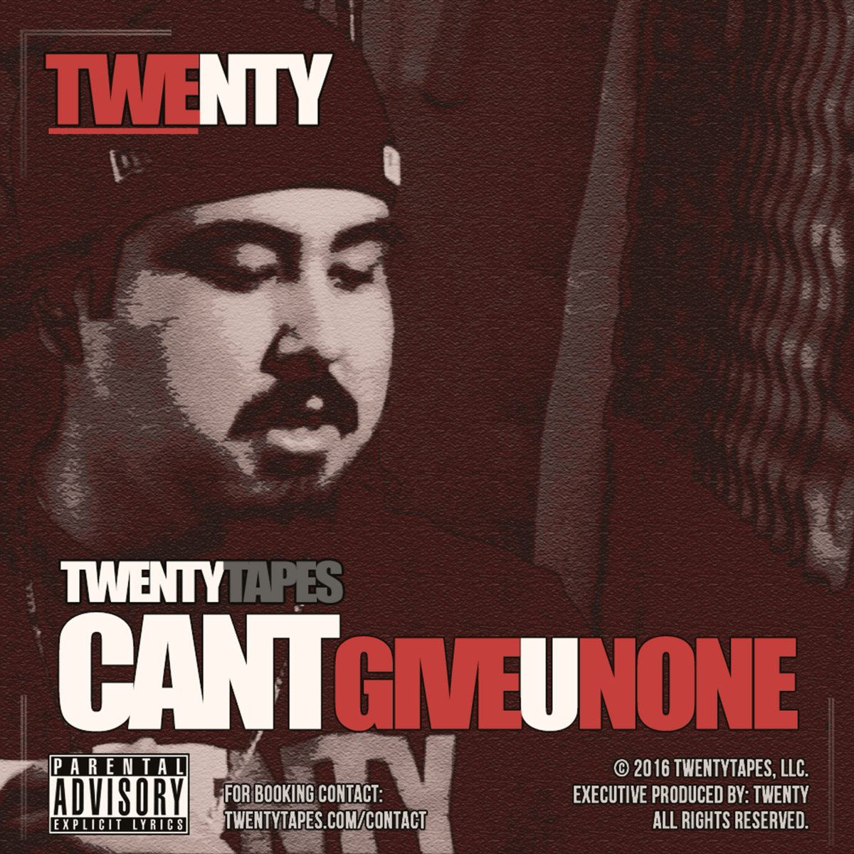 Twenty - Cant Give U None - Cover Art