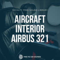 Aircraft Interior Sound Library Airbus 321 Neo cover art