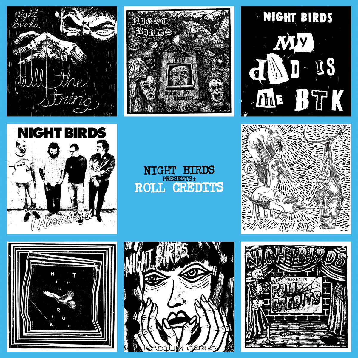 Image result for night birds - roll credits