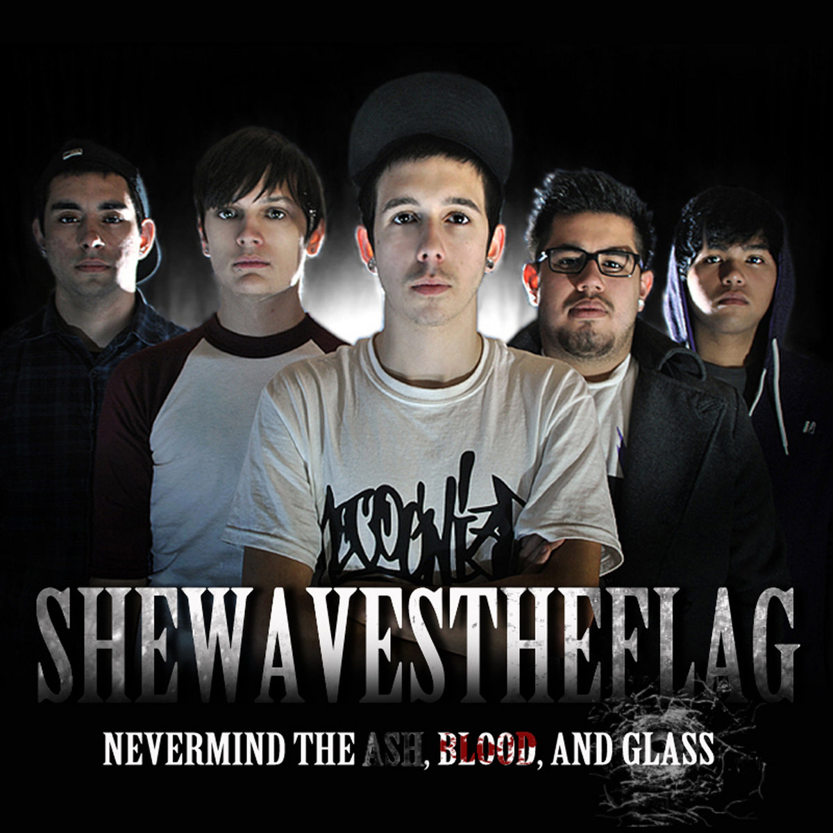 She Waves The Flag -  Nevermind the Ash, Blood, and Glass [EP] (2011)