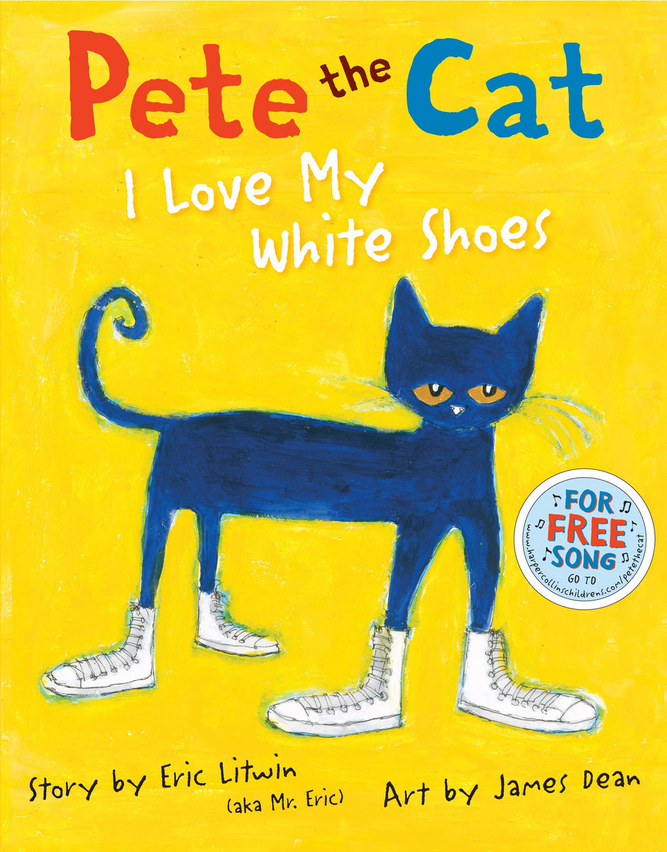 pete the cat i love my white shoes - Pete The Cat Saves Christmas